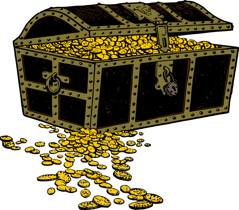 Treasure chest free to use clip art 3