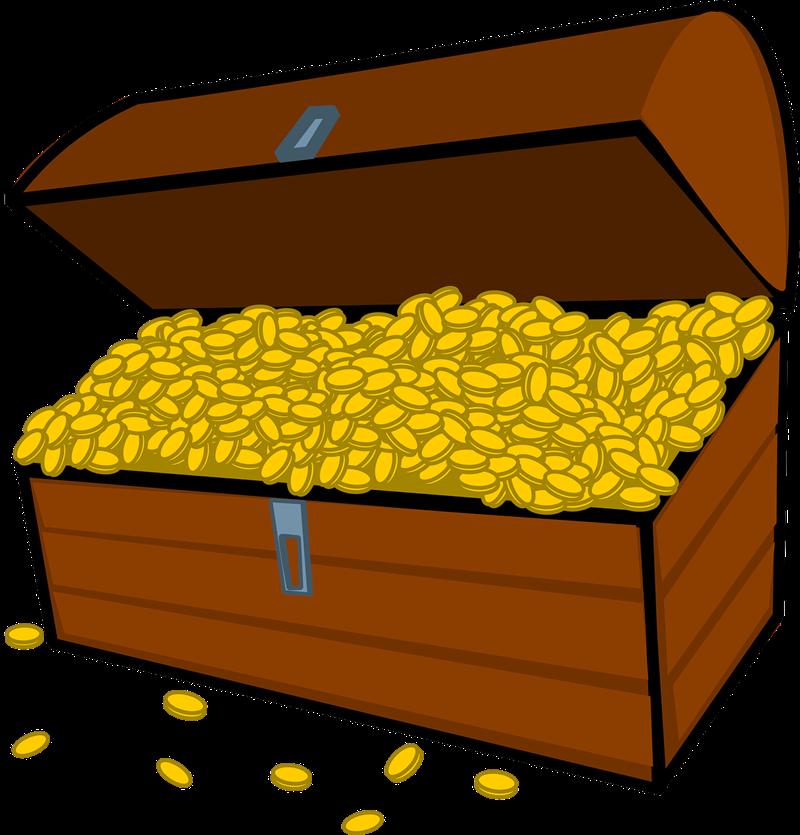 Treasure chest free to use clip art 4