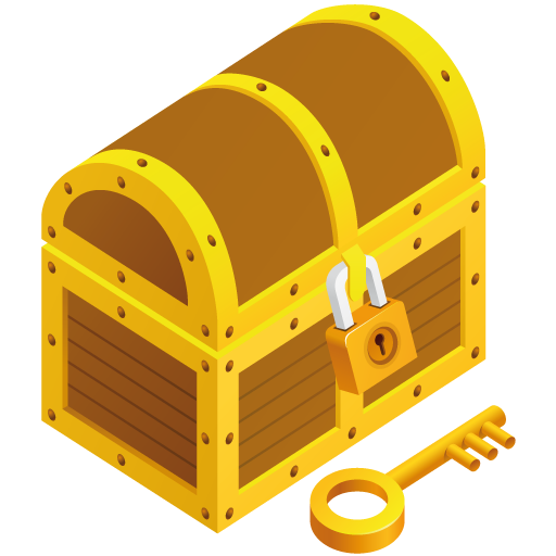 Treasure chest free to use clipart 2