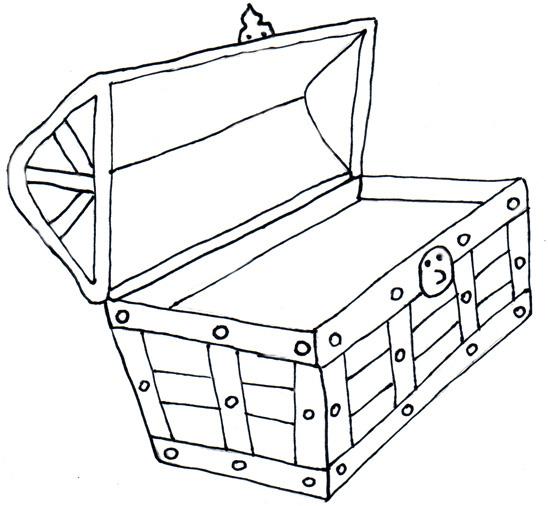 Treasure chest treasure clipart 3
