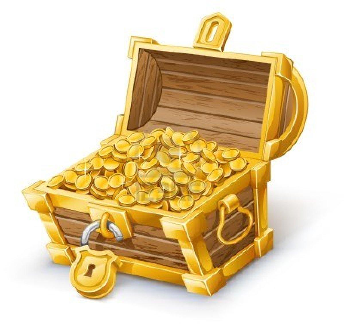 Treasure chest treasure clipart 5