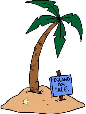 Tropical island clipart free images 4