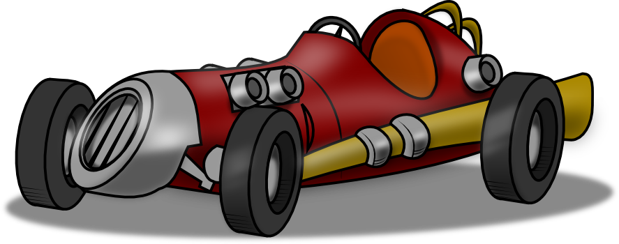 Vintage race car clipart free clipartfest