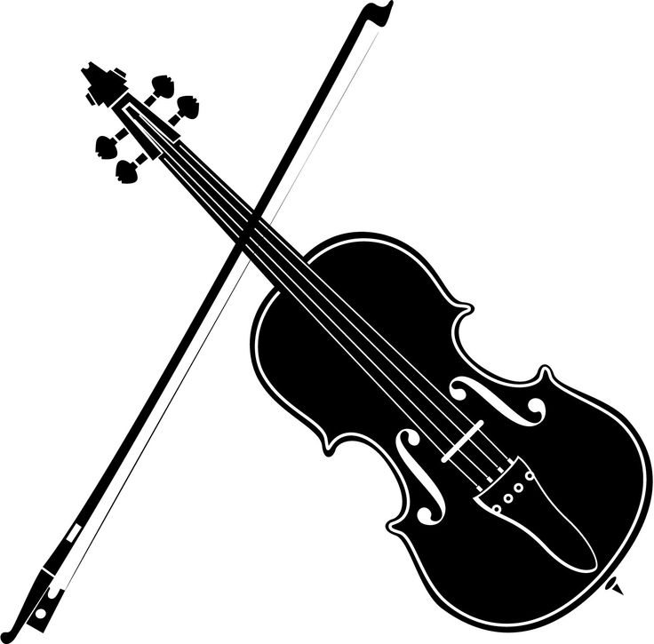 Violin clipart free clipartfest