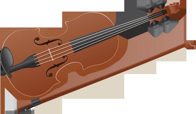 Violin clipart tiny