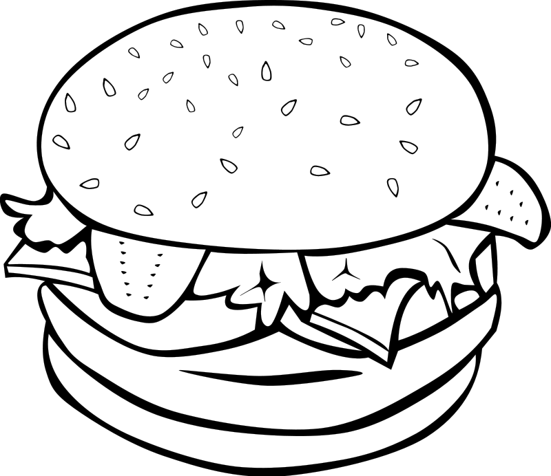Watermelon clipart black and white free 2