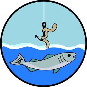 Woman fishing clipart free images