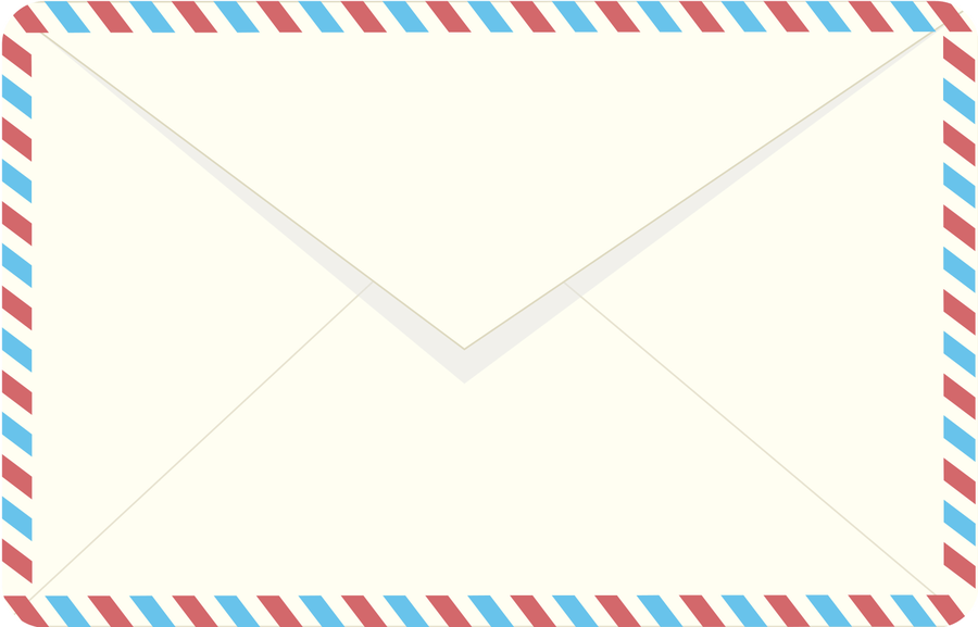 Airmail envelope clipart clipartfest