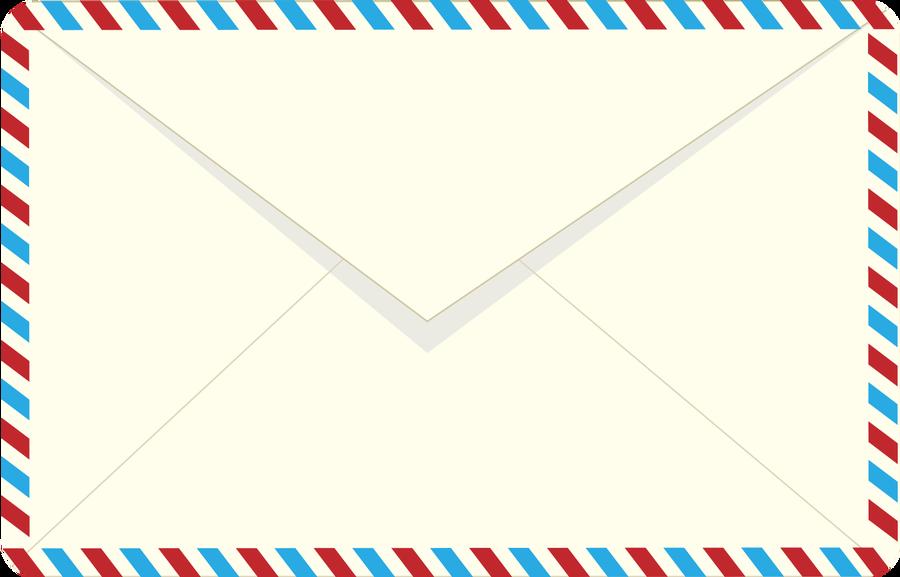 Airmail envelope clipart clipartfest