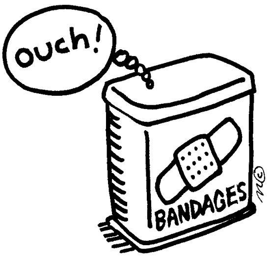 Bandaid band aid clip art image 2