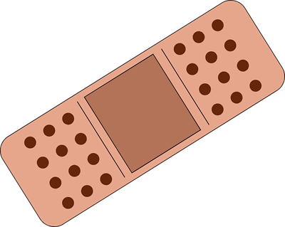 Bandaid clipart free images 4