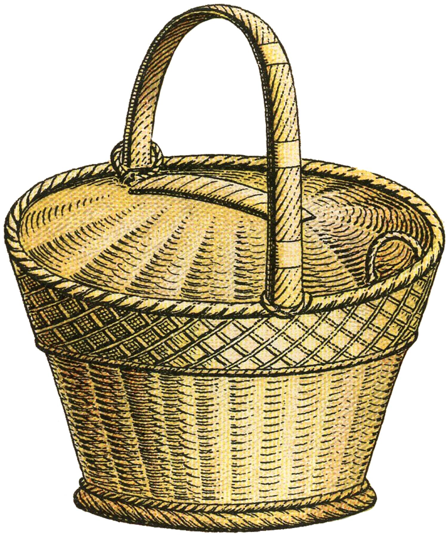 Basket clipart images clipartfest