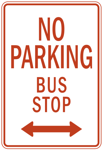 Bus stop sign clip art myriil