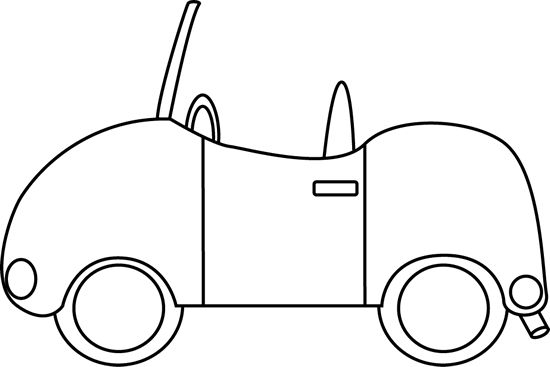Car  black and white a car clipart black and white