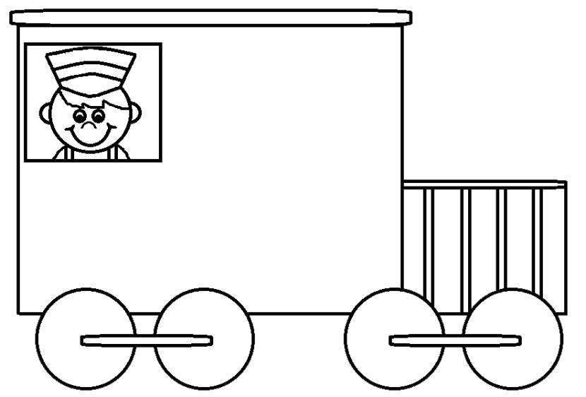 Car  black and white black and white train car clipart clipartfest