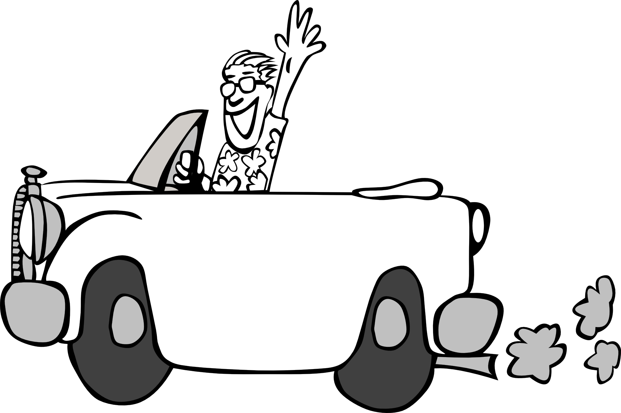 Car  black and white car drawing clipart black and white clipartfest