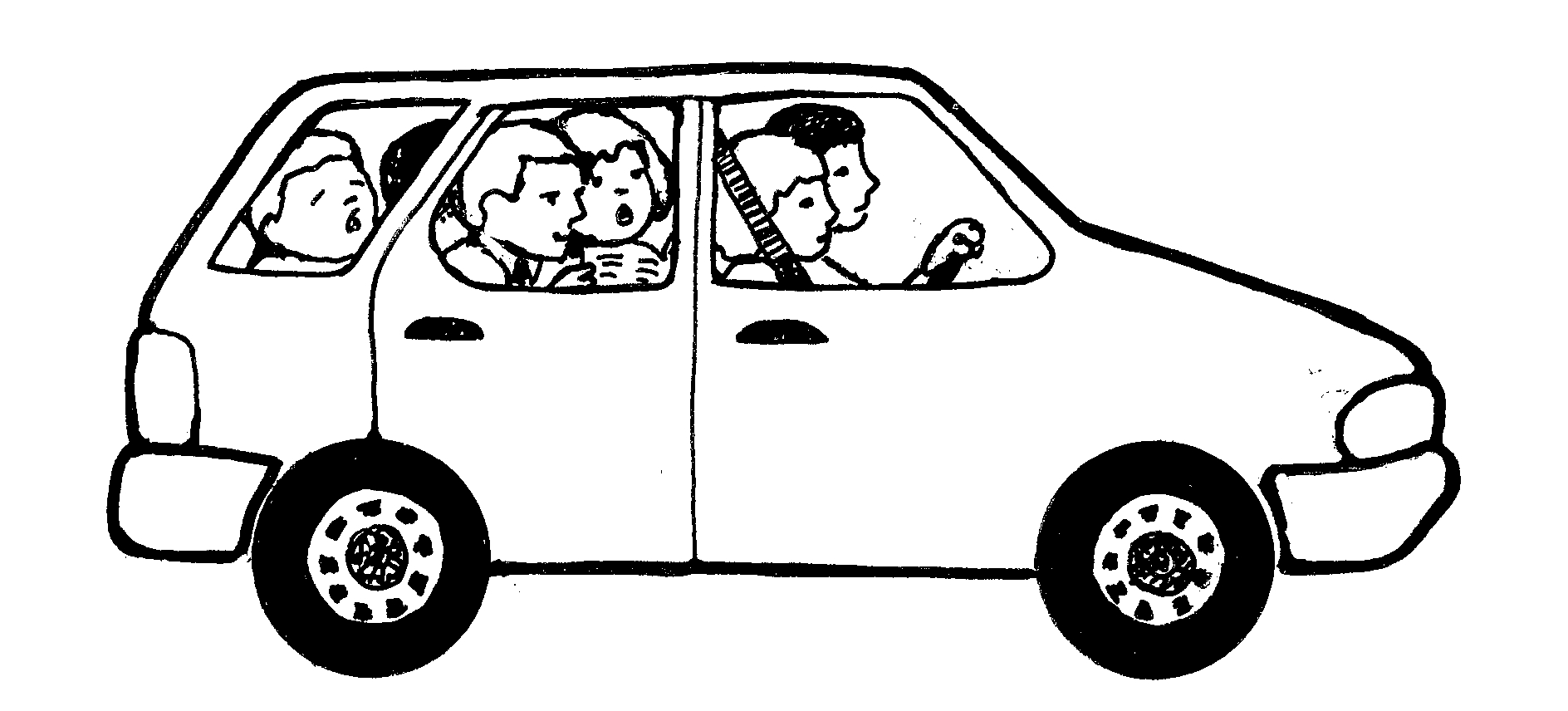 Car  black and white free car black and white clipart 3