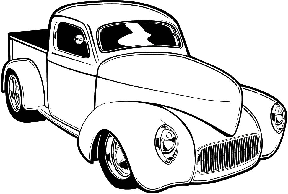 Car  black and white vintage car clipart black and white clipartfox
