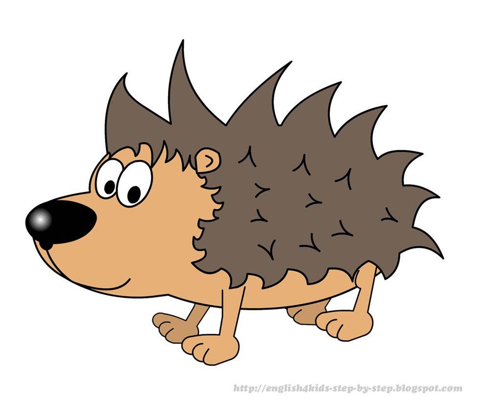 Cartoon hedgehog clipart clipartfest 2