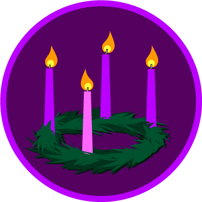 Advent candles clipart clip art animations - WikiClipArt