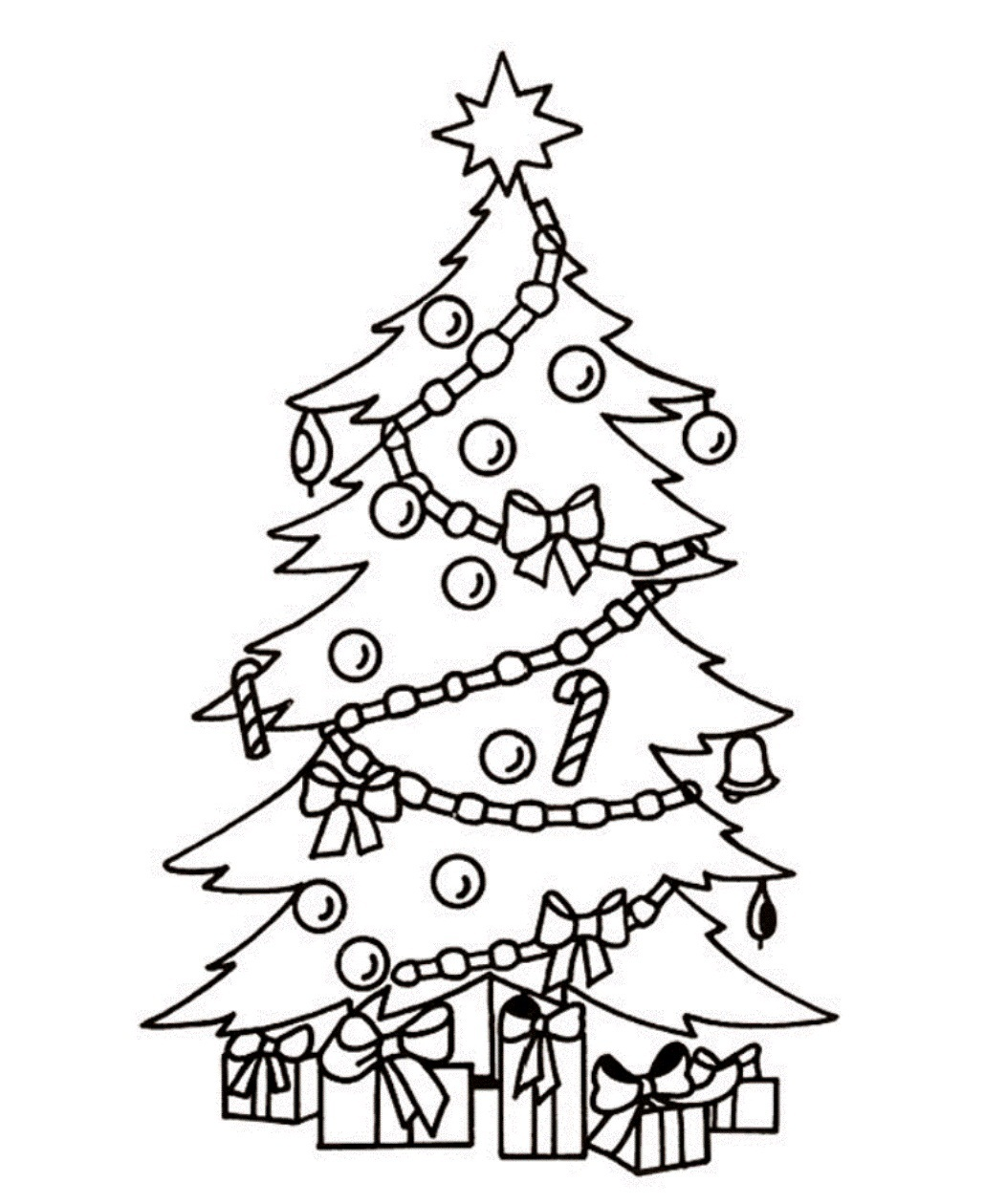 Christmas tree  black and white christmas tree clip art tree clipart