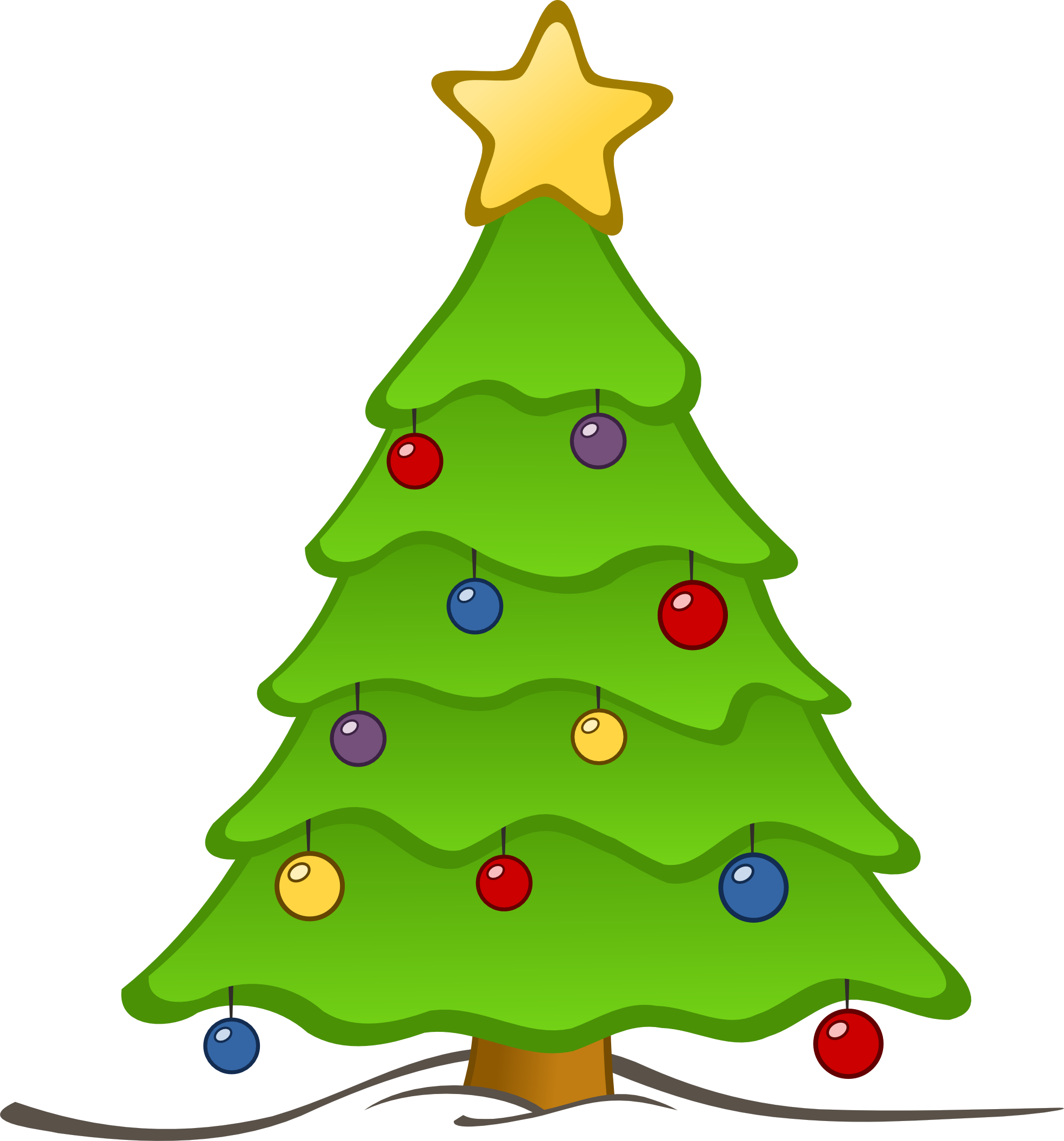 Christmas tree  black and white christmas tree clipart black and white free 7