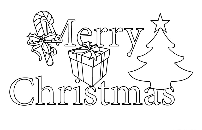 Christmas tree  black and white merry christmas clip art free tree clipart for 6