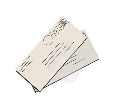 Clip art letter mail clipart 2