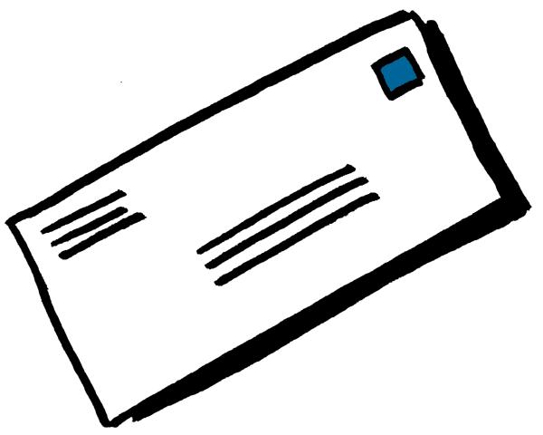 Clip art letter mail clipart