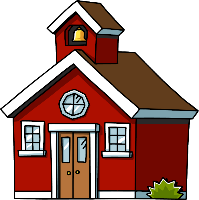 Clip art schoolhouse