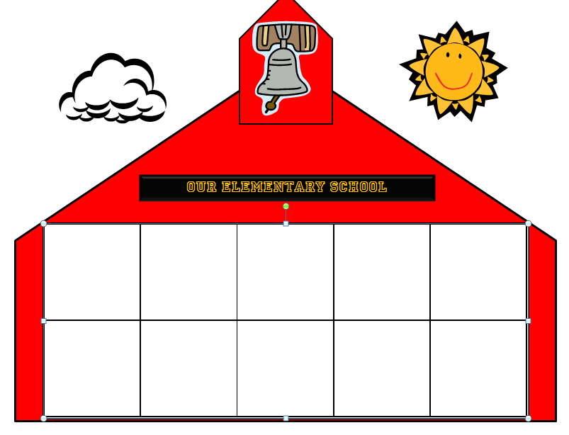 School house Coloring Sheet | House colouring pages, Old school ... | 614x803