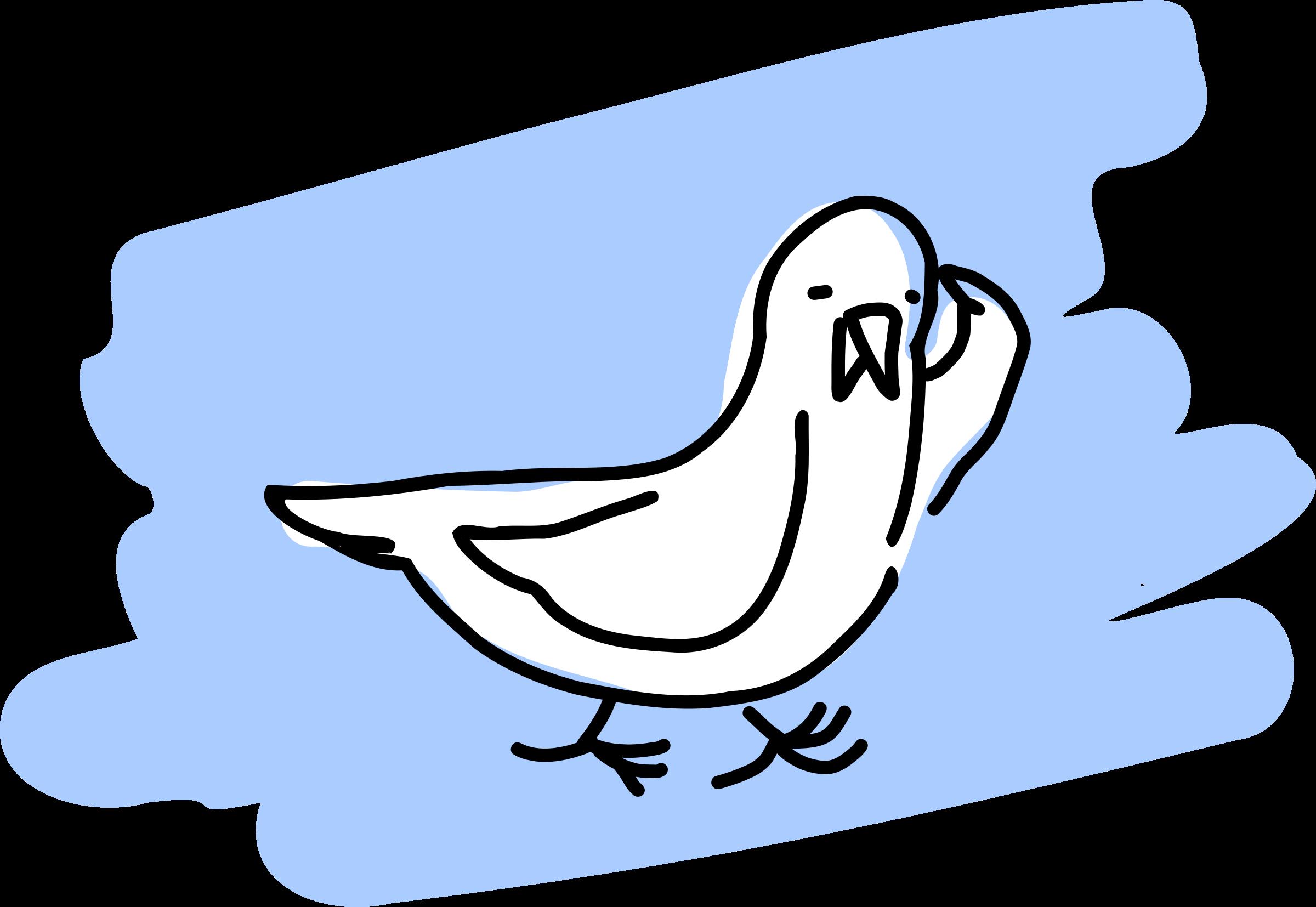 Clipart seagull 2