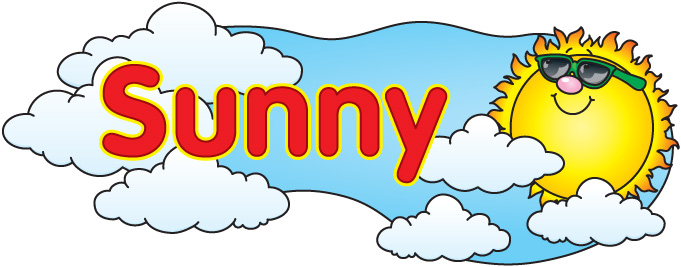Clipart sunny weather clipartfest 2