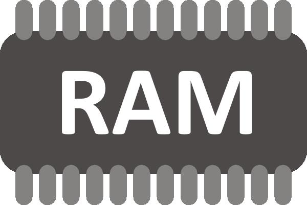 Computer ram clipart 3