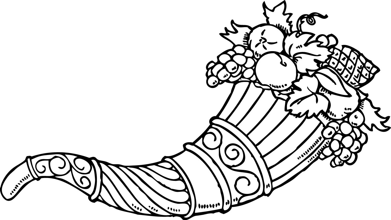 Cornucopia clip art clipart