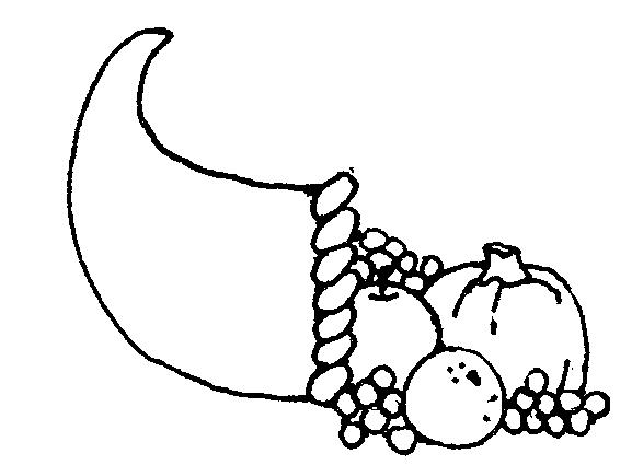 Cornucopia clip art free clipart 2