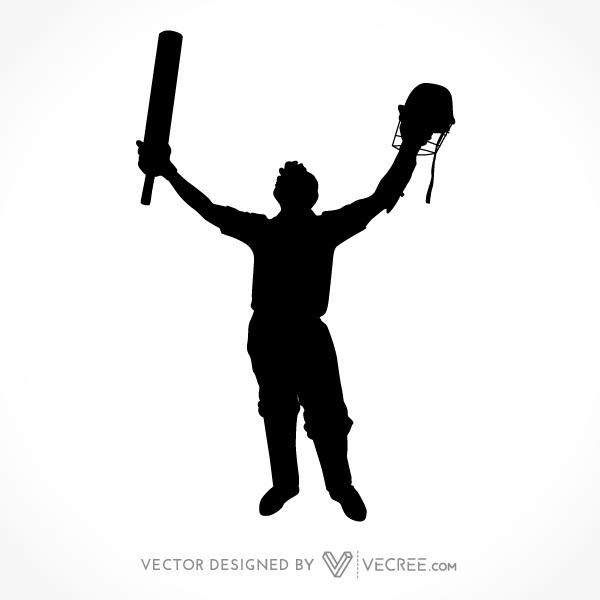 Cricket clipart vector