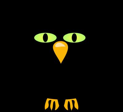 Crow clip art 2