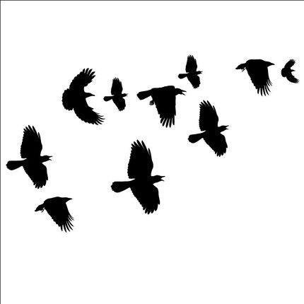 Crow clip art 3