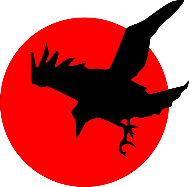 Crow clip art 4
