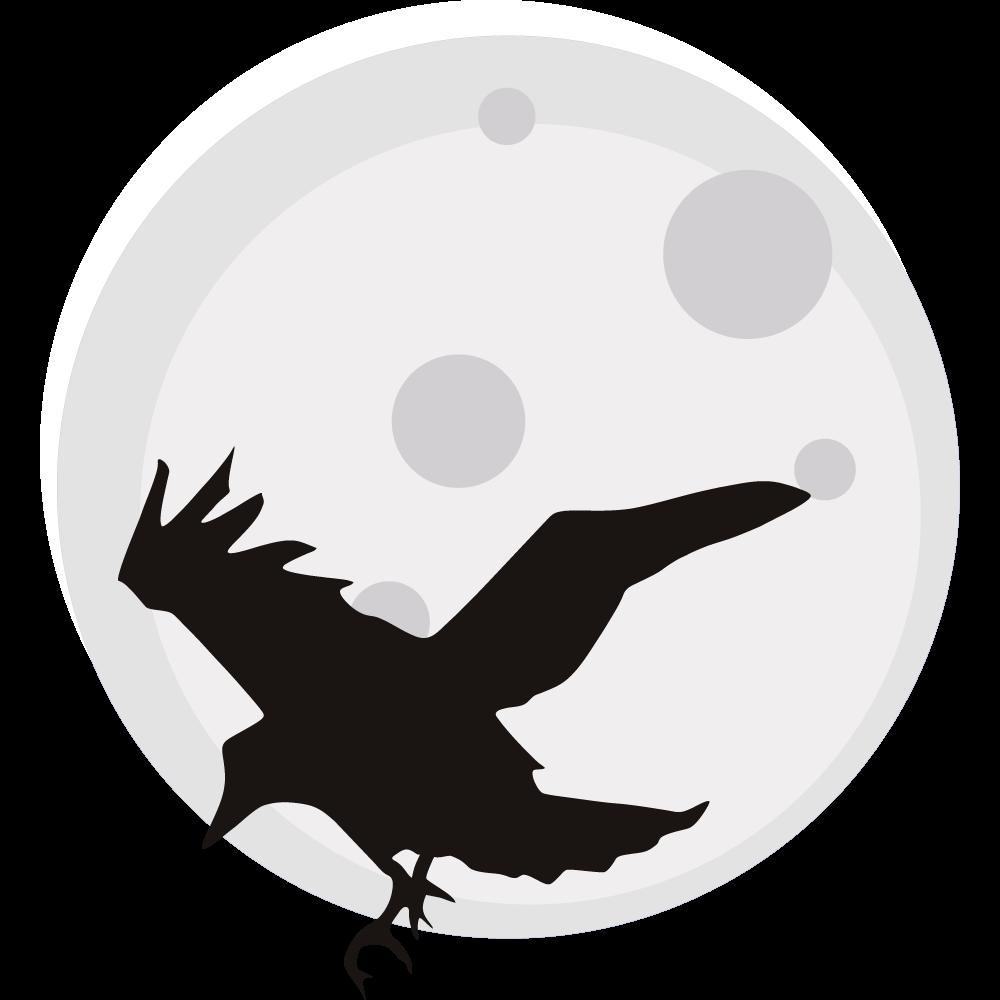 Crow clip art crow clipart fans 13