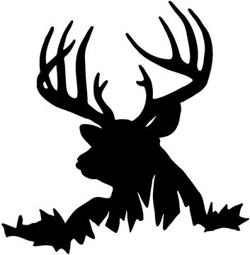 Deer hunting clipart free images 3