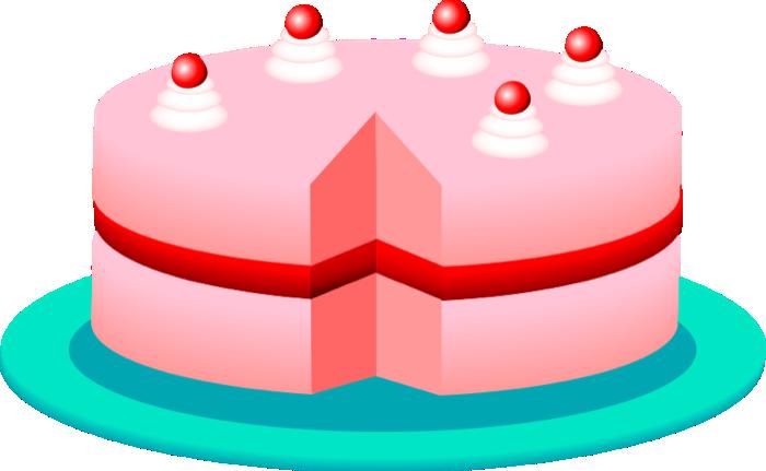 Dessert pie clip art 3