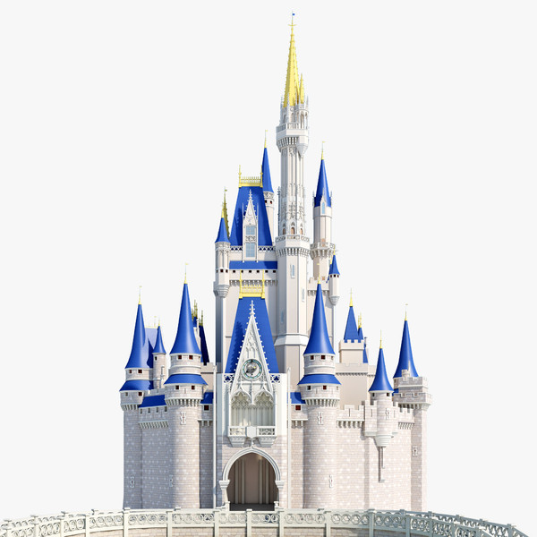 Disney castle cinderella castle clipart 2