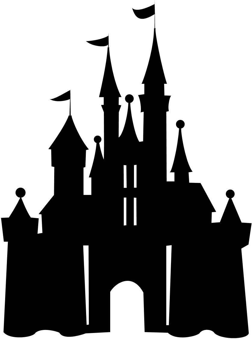 Disney castle logo clipart 2