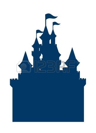 Disney castle silhouette clip art free clipart