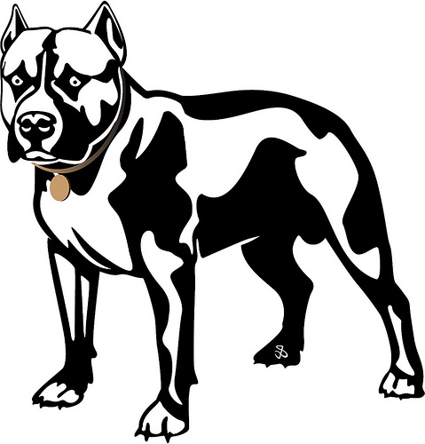 Dog  black and white dog black and white clip art clipart photo 2