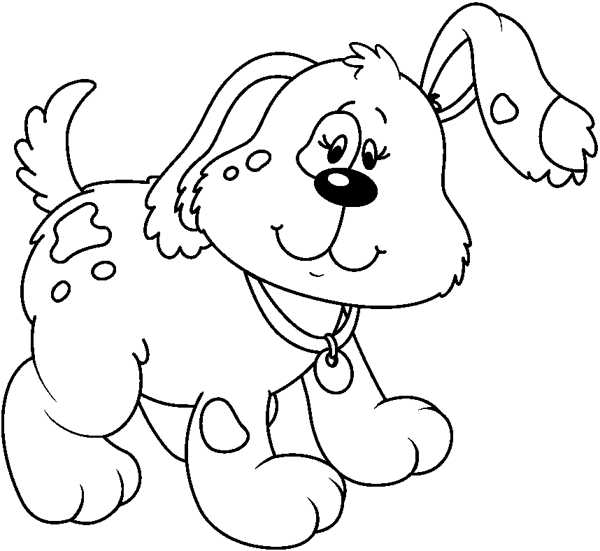 Dog  black and white dog black and white clip art clipartfest