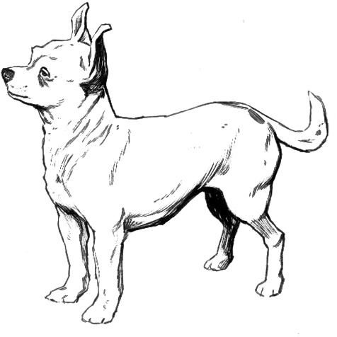 Dog  black and white dog clipart black and white clipartfest