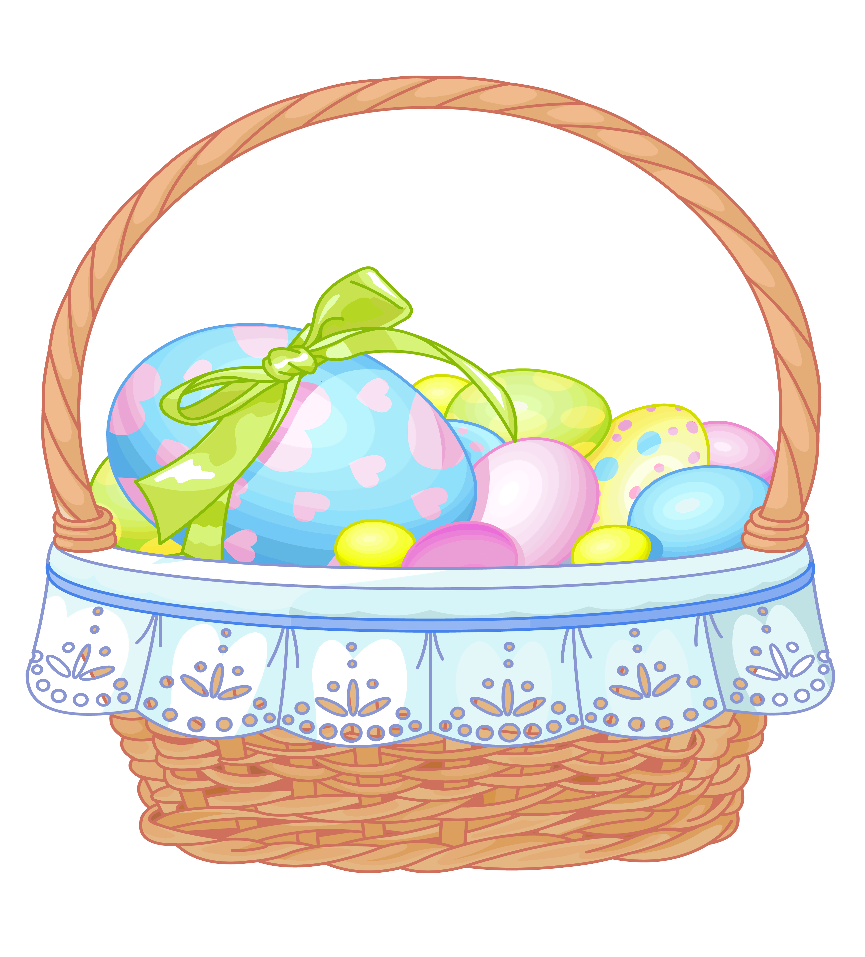 Easter basket clip art tumundografico 3